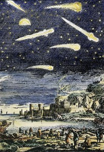 Comets in Description de l'Universe, 1683