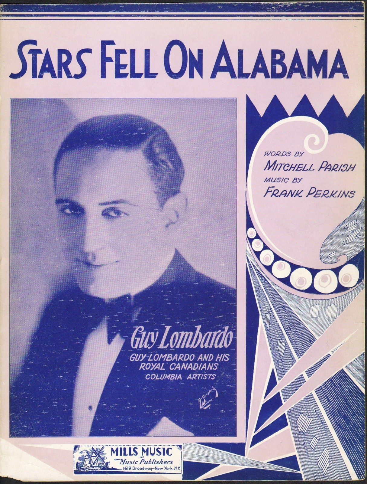 ... With Astronomical Themes No. 4: Stars Fell On Alabama, With The